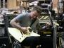 Gitary Jamesa ESP Explorer #23 (White dost - Vulturus)