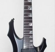 ESP LTD Custom F 7-String Flame Inlays