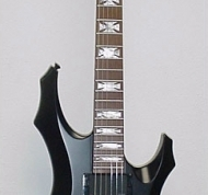 ESP LTD Custom F Cross Inlays