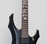 ESP LTD Custom F Papa Het Inlays