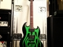 "Gitary Jamesa ESP LTD ""The Grynch"" #1 (green) i #2 (red)"