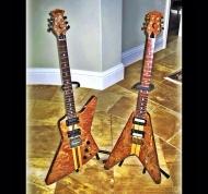 My set of 80's Moonstone guitars