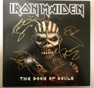 Iron Maiden - The Book of Souls signed LP