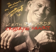 Keith Richards - signed solo LP
