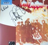 Led Zeppelin II signed RP + JPJ