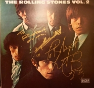 The Rolling Stones - Ketih & Charlie signed LP