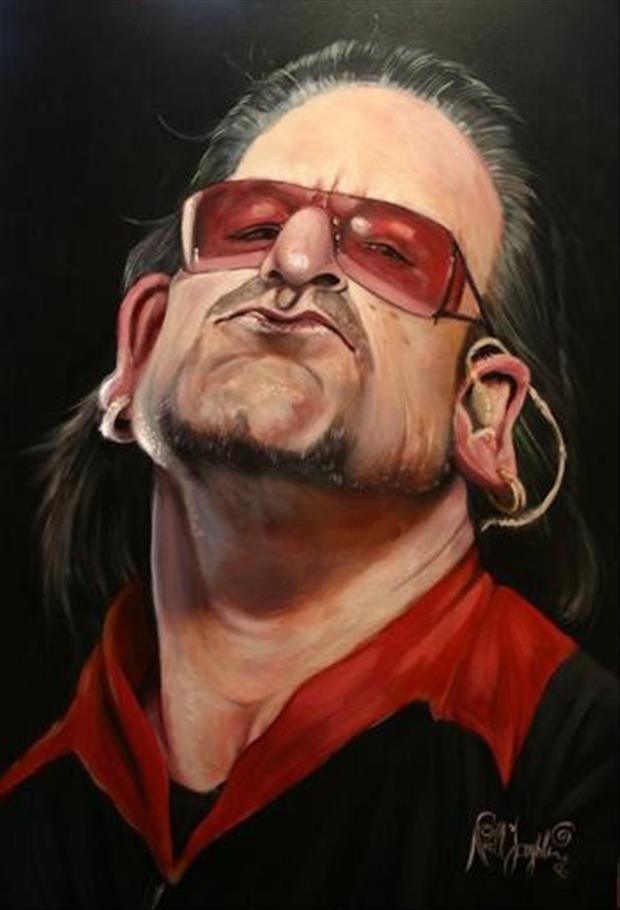 Funny-Celebrity-Charicatures-Bono