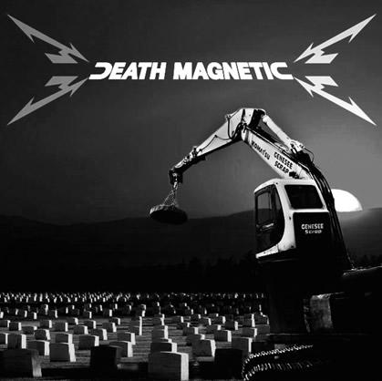 metallica death magnetic alternative cover