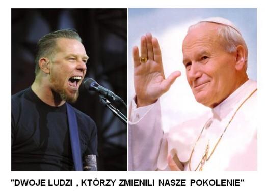 James papież - Papa Het