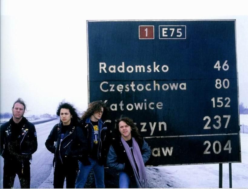 Metallica przy gierkówce - Katowice - Polska
