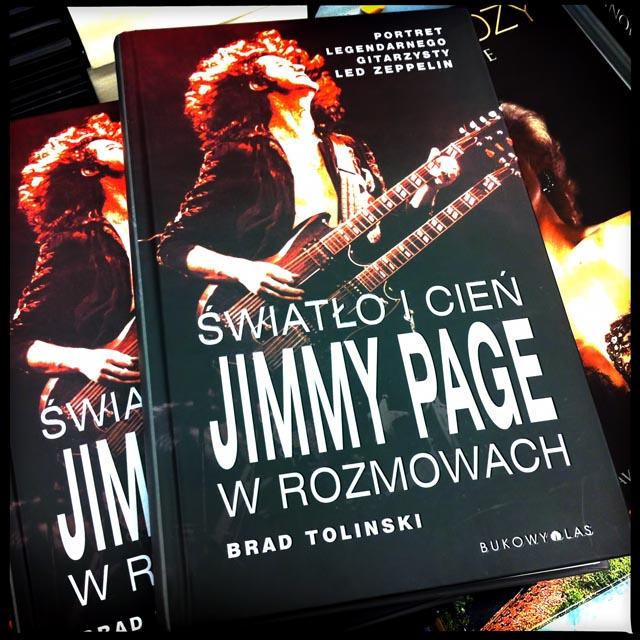 """Recenzja książki """"Światło i cień. Jimmy Page w rozmowach"""""""