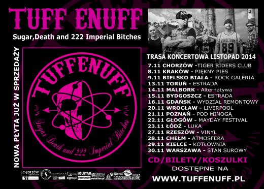 Konkurs: Wygraj płytę oraz bilet na koncert Tuff Enuff