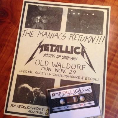 Metallica i pierwszy koncert w San Francisco w roli headlinera
