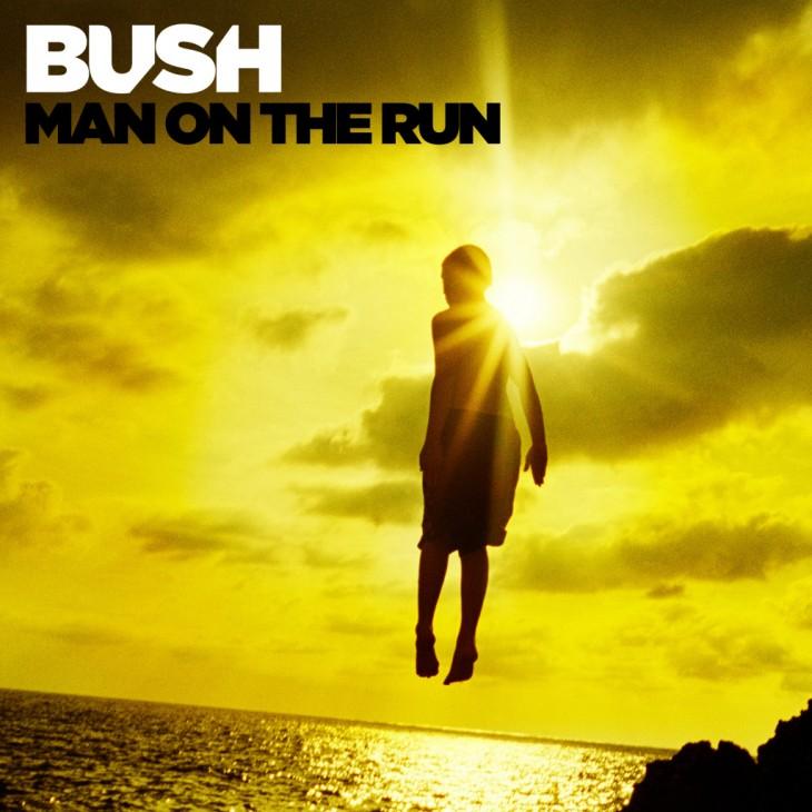 """Recenzja płyty The Bush - """"Man on the Run"""""""