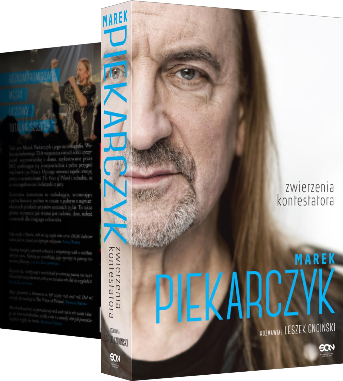 """Konkurs: Wygraj autobiografię Marka Piekarczyka """"Zwierzenia kontestatora"""""""