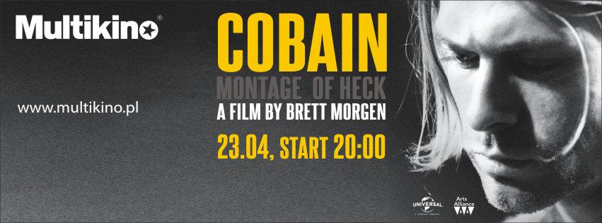 ",,Cobain: Montage of heck"" już 23 kwietnia w Multikinie"