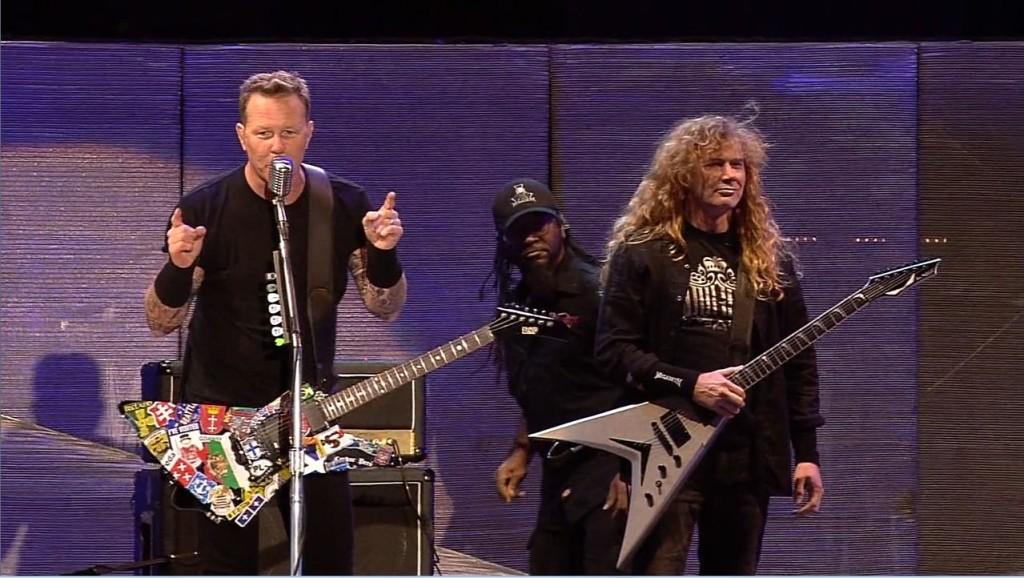 """Dave Mustaine (Megadeth): """"Byliśmy z Jamesem Hetfieldem naprawdę dobrym gitarowym duetem"""""""