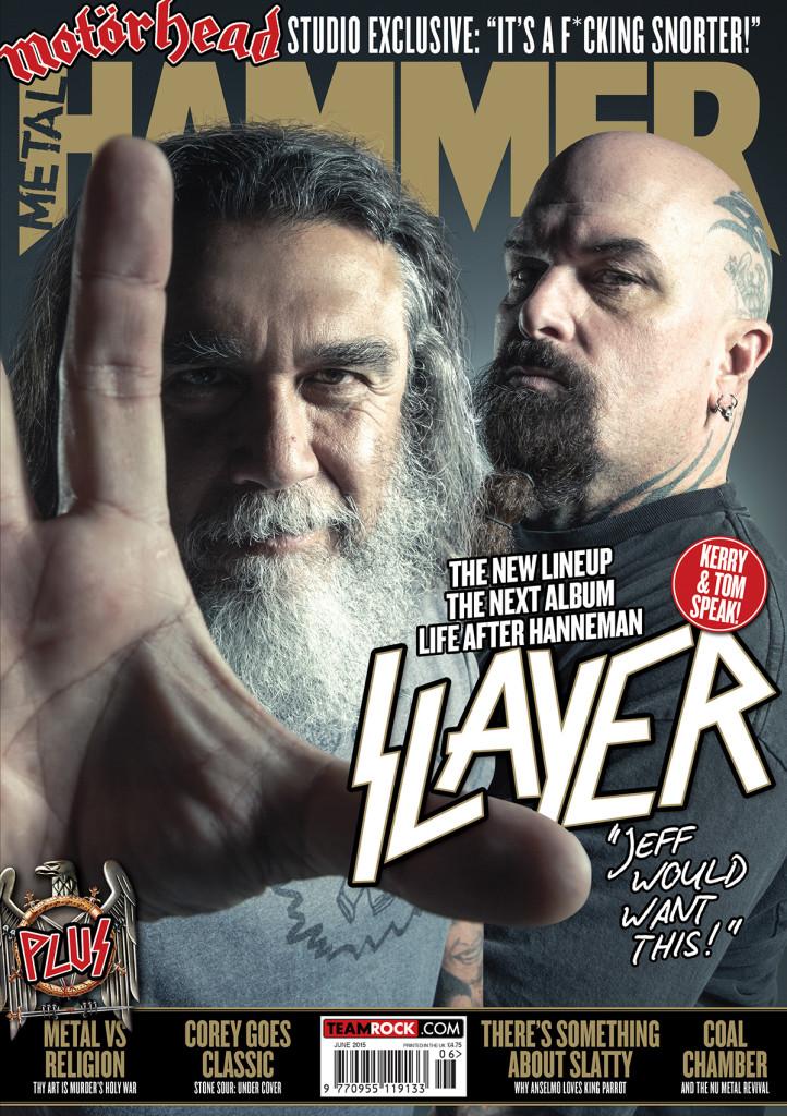 metal hammer magazine cover Slayer