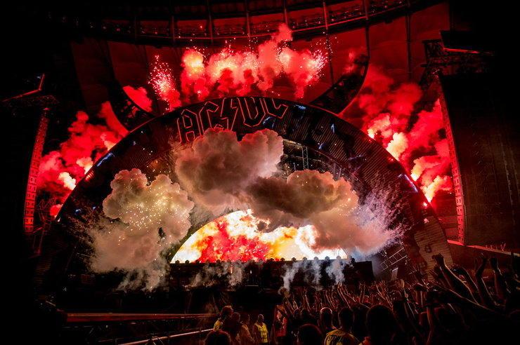 AC/DC: Obejrzyj nagrania koncertu na Stadionie Narodowym [27.07.2015]