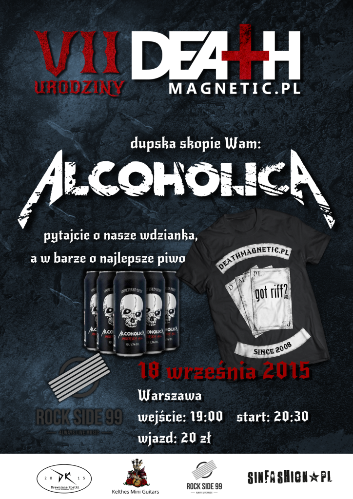 Urodziny_death_magnetic_Plakat