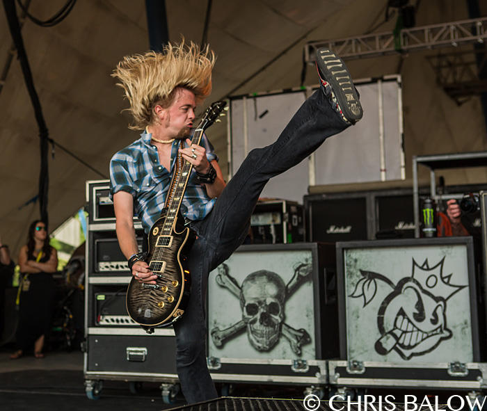 Black Stone Cherry performing on the Monster Energy's Welcome To Rockville Festival at the Metropolitan Park in Jacksonville Florida on April 27th 2014 Photo by Chris Balow