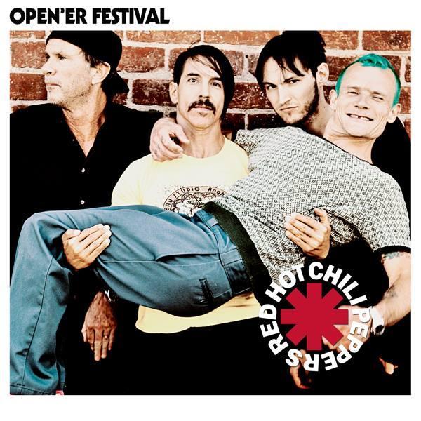 Red Hot Chili Peppers headlinerem Open`er Festival2016