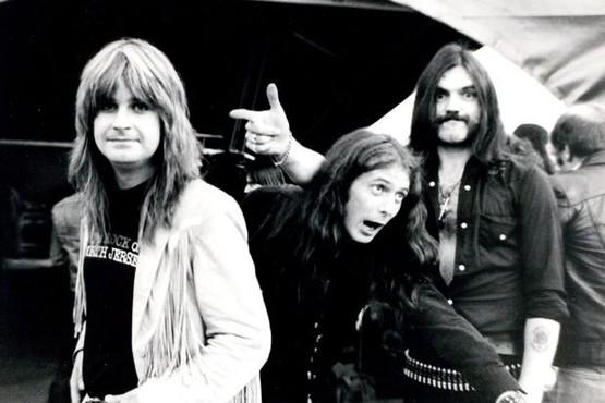 Sentinel archive photograph Port Vale A rare picture of Ozzie Osbourne , left, with Burslem born Lemmy of Motorhead (R) and Eddie Clarke before they topped the bill at the Vale Park rock concert.
