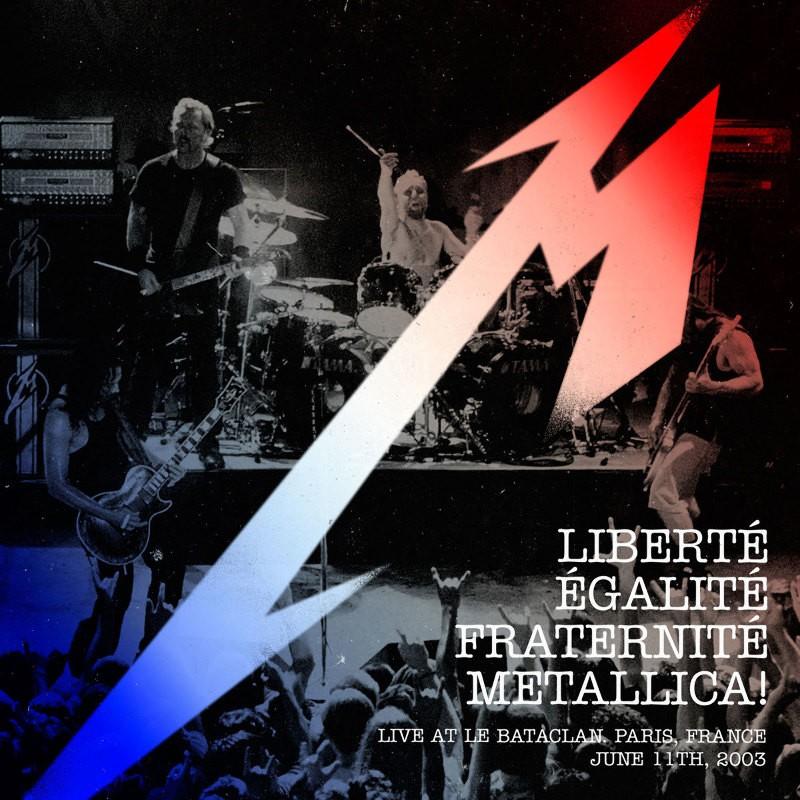 Metallica wspiera ofiary ataków terrorystycznych w Paryżu