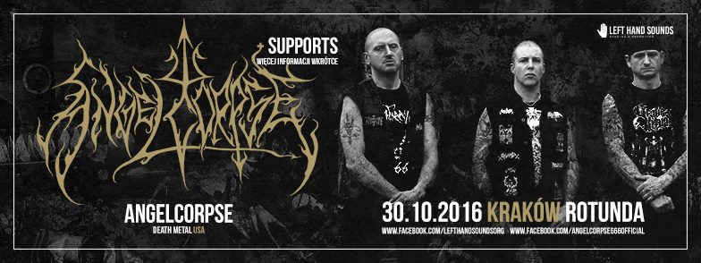 Ragehammer pierwszym z supportów Angelcorpse