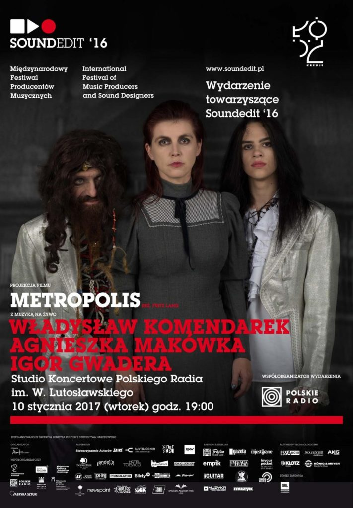 "Soundedit '16: Projekt ""Metropolis"" w Polskim Radiu"