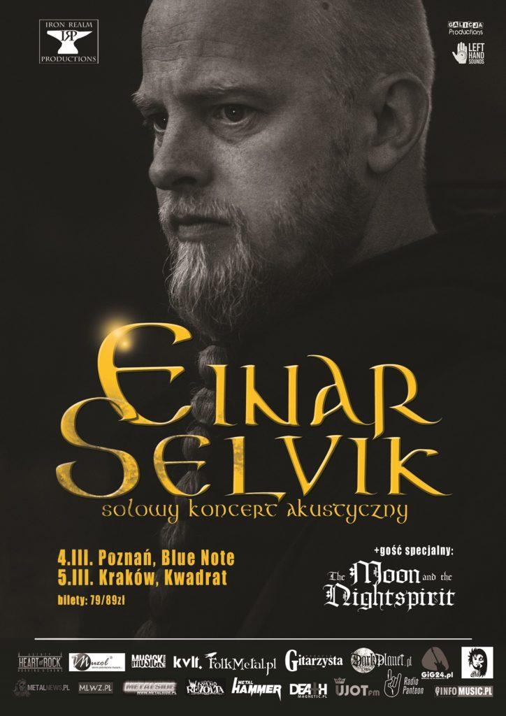 Einar Selvik solo w Poznaniu i Krakowie