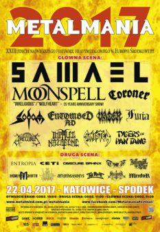 Metalmania 2017: Samael, Moonspell i Vader w specjalnych setach koncertowych!