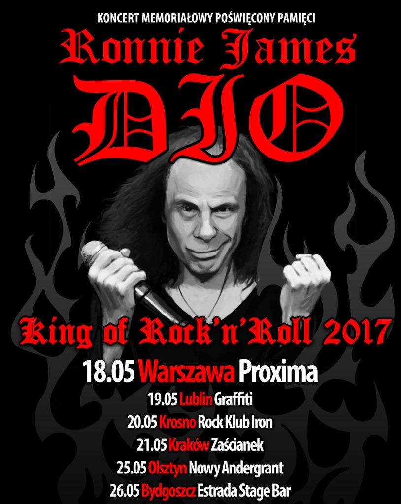 DIO plakat 2017 Warszawa