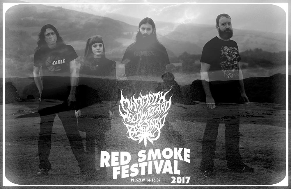 Giobia oraz Mammoth Weed Wizard Bastard w line-upie Red Smoke Festival