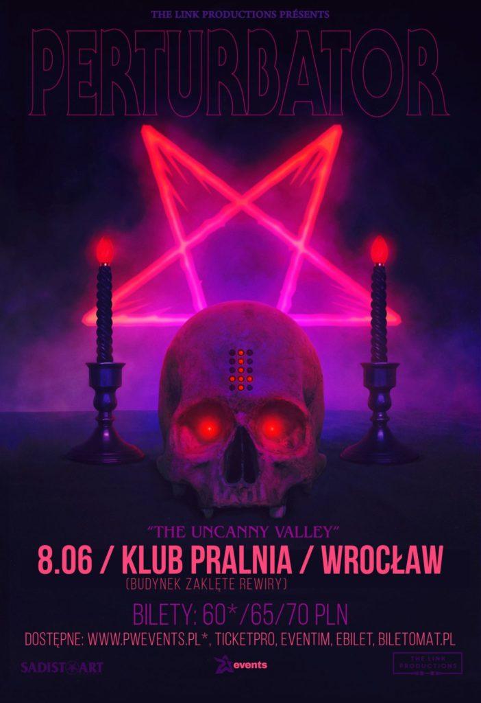 Perturbator: Mistrz mrocznego synthwave'u we Wrocławiu