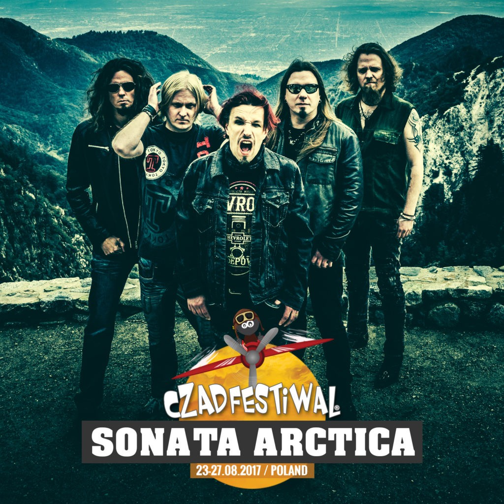 Sonata Arctica artwork for Czad Festiwal, PL