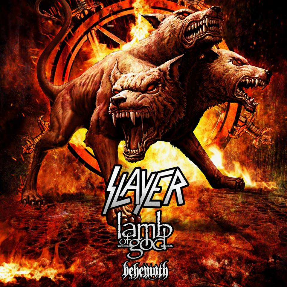 slayer behemot lamb of god