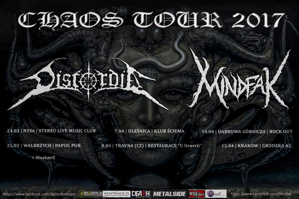 Chaos Tour 2017 - Discordia - Mindfak