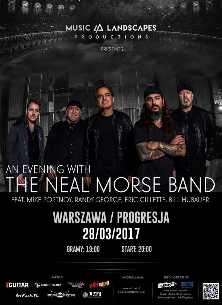 The Neal Morse Band w Warszawie już dziś!