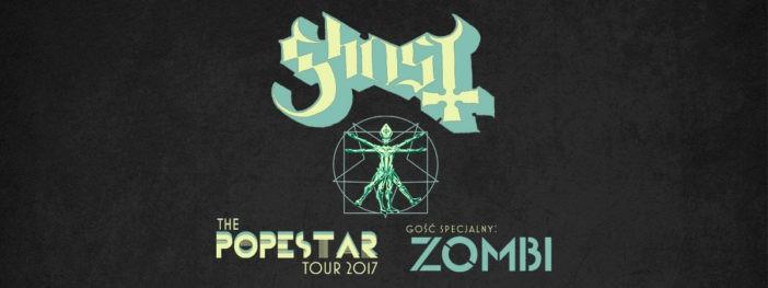 Ghost: Koncert w Stodole w kwietniu
