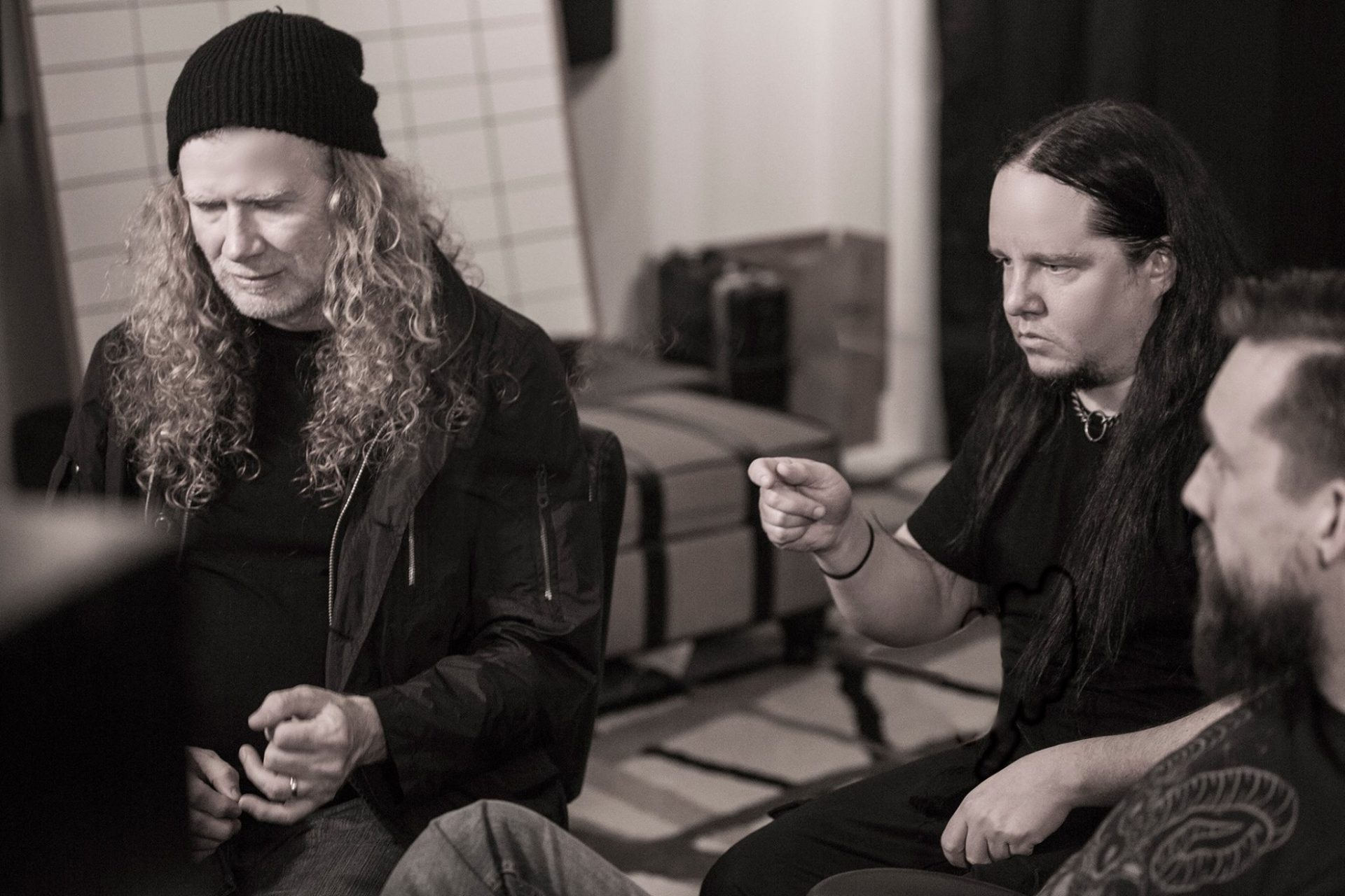 mustaine with jordison