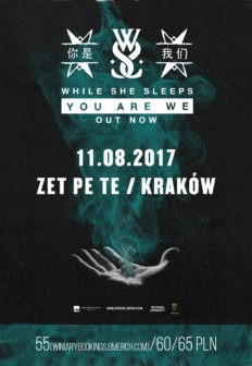 While She Sleeps powraca do Poslki