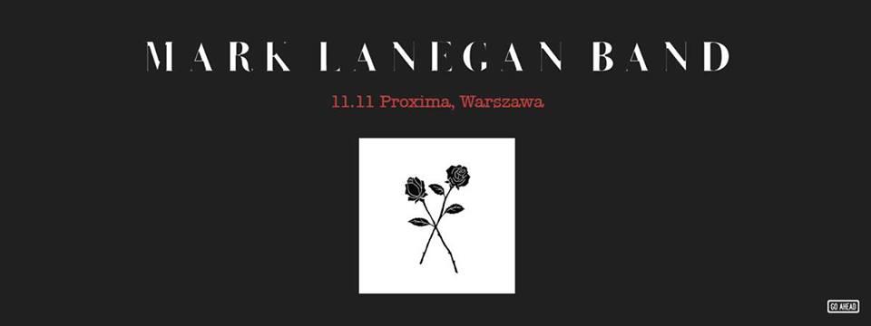 Mark Lanegan wystąpi 11 listopada w warszawskiej Proximie