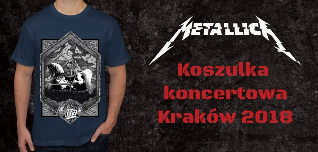 Przygarnij unikatową koszulkę z koncertu Metalliki w Krakowie!