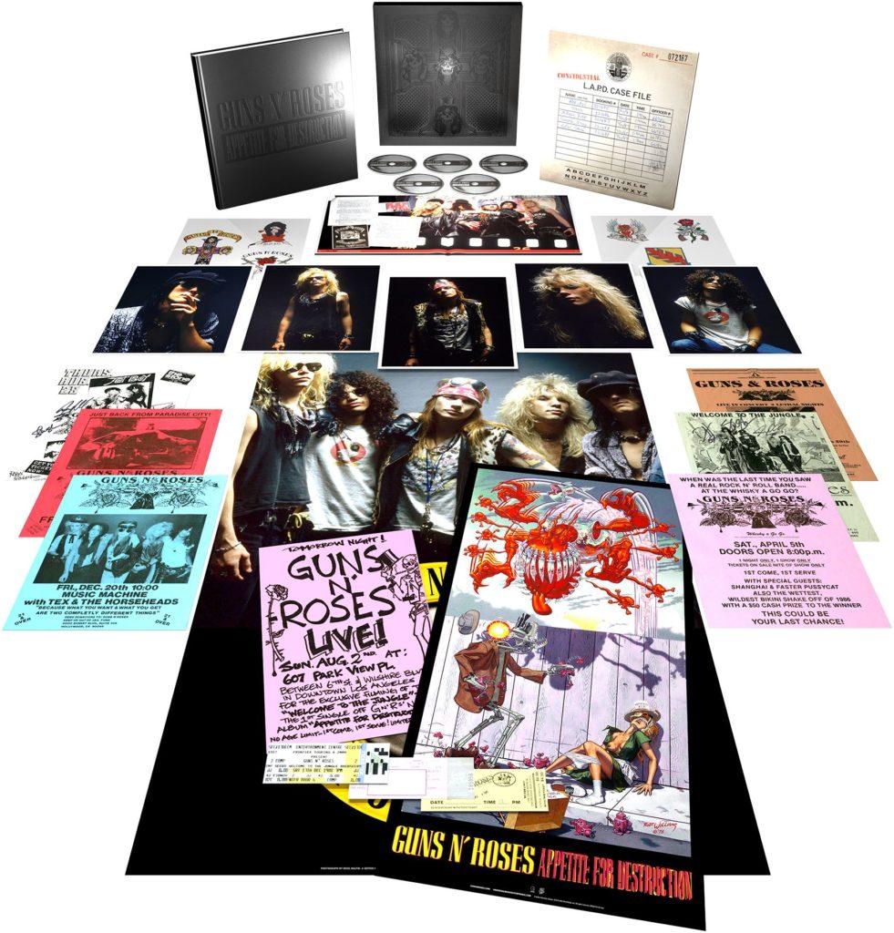 """Guns N' Roses promuje box """"Appetite For Destruction"""" niepublikowanym utworem"""