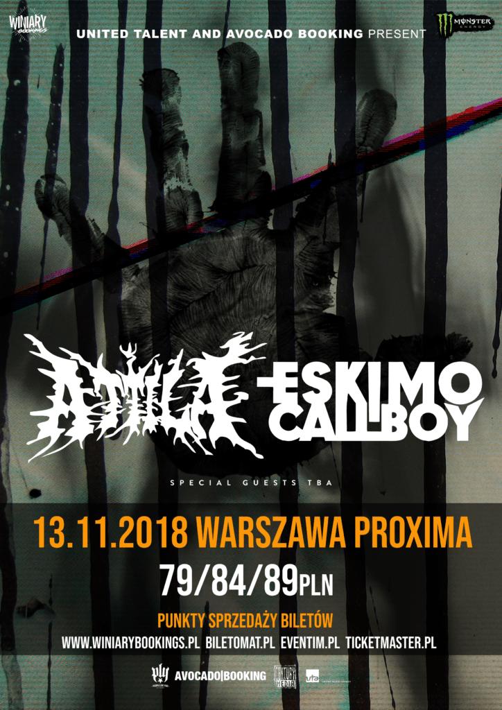 Attila i Eskimo Callboy na jedynym koncercie w Polsce