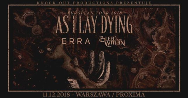 As I Lay Dying + Erra + Bleed From Within