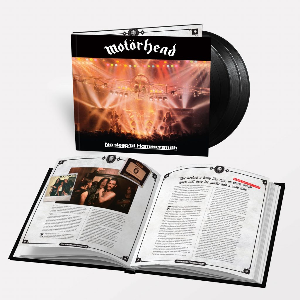'No Sleep' Til Hammersmith' Deluxe Cd Box-Set – 40. rocznica kultowego albumu koncertowego