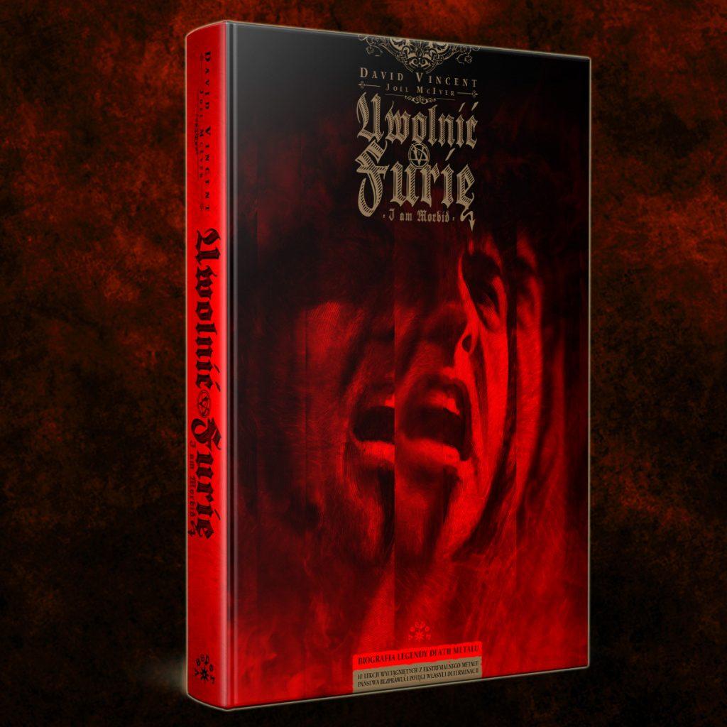 Uwlonić Furię - premiera autobiografii Davida Vincenta (Morbid Angel / I am Morbid)