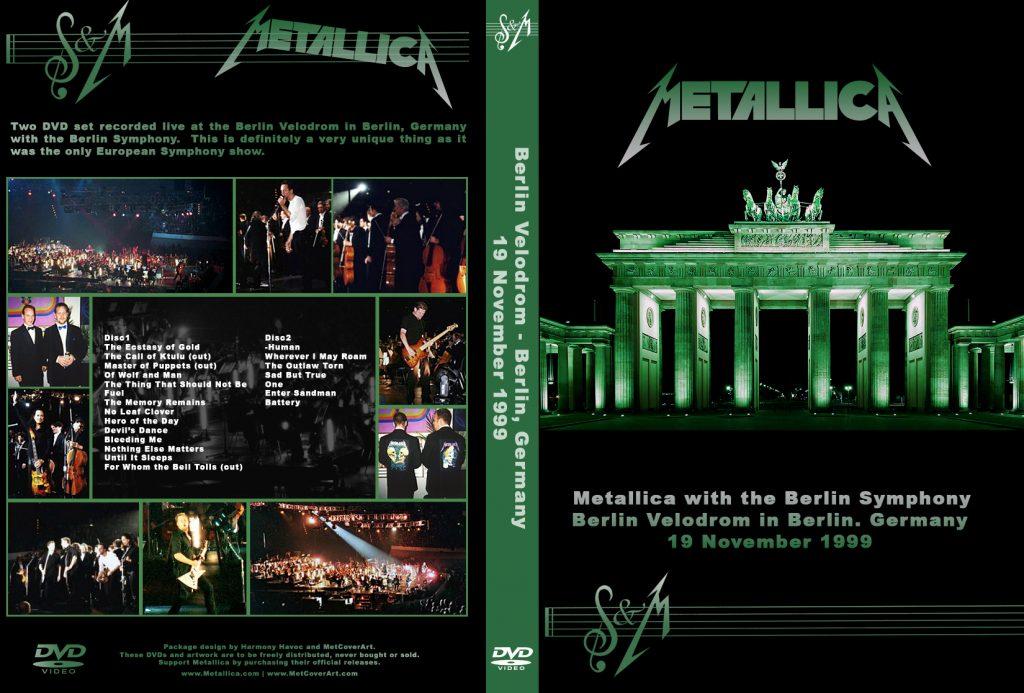 Symphony and Metallica - koncerty z kwietnia i listopada 1999 roku